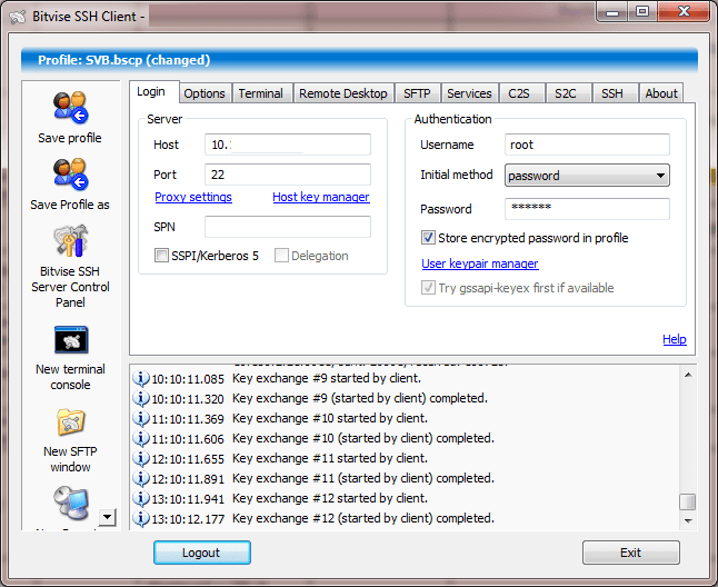 Bitvise SSH Client1